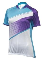 Koszulka kellys jody krótki rękaw, violet-azure