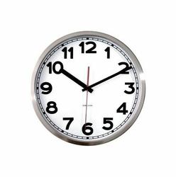 Zegar ścienny Station cyfry arabskie