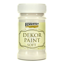 Farba Dekor Paint Soft 100 ml - porcelanowy - PORCE