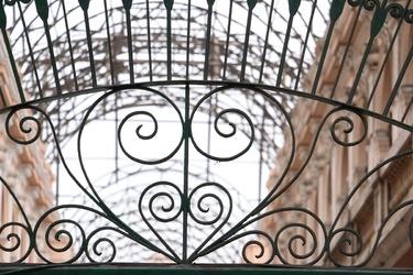 Fototapeta na ścianę kuta żelazna brama fp 3779