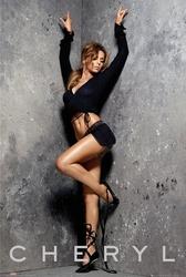 Cheryl cole stretching - plakat