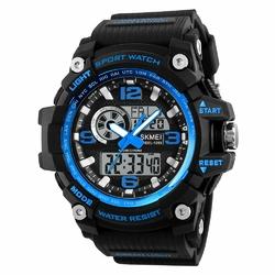 ZEGAREK MĘSKI sport SKMEI 1283 LED blue - BLUE