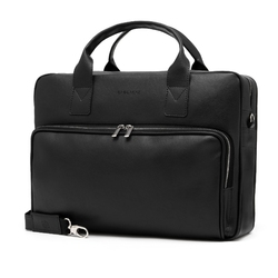 Czarna torba męska b21 brødrene na laptop 15,6