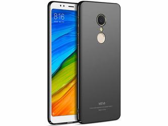 Etui MSVII Thin Case Xiaomi Redmi 5 Plus czarne - Czarny