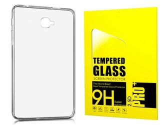 Etui silikonowe do Samsung Galaxy Tab A 10.1 + szkło