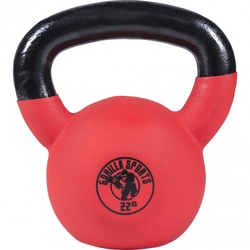 22 kg kettlebell gumowany hantel crossfit gorilla sports