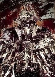 Legends of bedlam - eileen the crow, bloodborne - plakat wymiar do wyboru: 59,4x84,1 cm