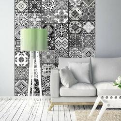 Fototapeta - arabeska - czerń i biel
