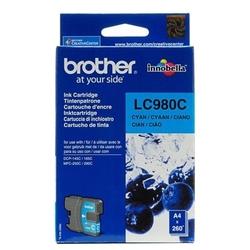 Tusz oryginalny brother lc-980 c lc980c błękitny - darmowa dostawa w 24h