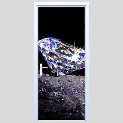 Fototapety na drzwi diamenty 618a