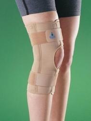 2037 stabilizator kolana z zawiasami, z przewiewnej tkaniny