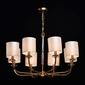 Żyrandol lampa wisząca palermo białe abażury chiaro elegance 386017408