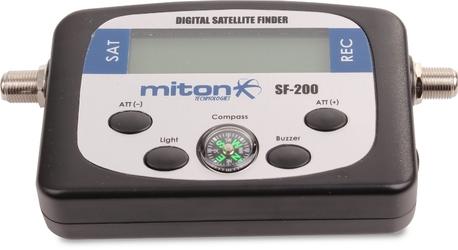 MIERNIK SAT CYFROWY MITON SF-200 - Szybka dostawa lub możliwość odbioru w 39 miastach