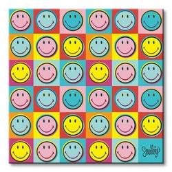 Smiley pop art - obraz na płótnie