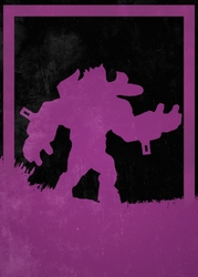 League of legends - alistar - plakat wymiar do wyboru: 40x50 cm