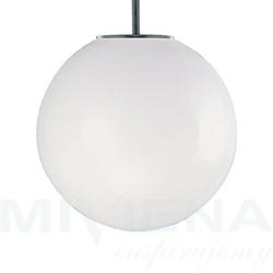 Atom lampa wisząca 1 stal szkło