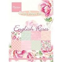 Papier do scrapbookingu A5 - English Roses
