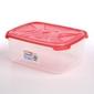 Pojemnik do przechowywania żywności prostokątny nuvola frigo 6,8 l koralowy