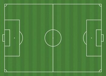 Tablica taktyczna do piłki nożnej boisko 322 suchościeralna