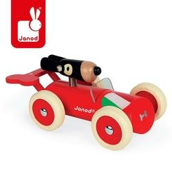 Drewniany samochód w stylu retro janod - marco