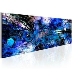 Obraz - niebieski artystyczny nieład