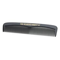 Bearded man co - 001 gents beard pocket comb - ręcznie robiony grzebień do włosów i brody