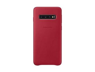 Samsung etui leather cover galaxy s10 czerwony