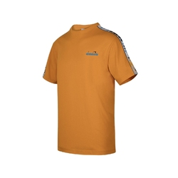 Koszulka męska diadora t-shirt ss 5palle offside - pomarańczowy