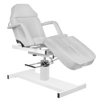 Fotel kosmetyczny hyd. a 210c pedi szary