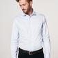 Elegancka błękitna koszula męska profuomo travel 40