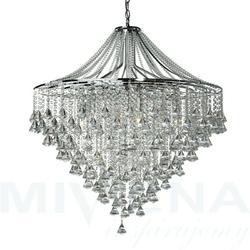 Dorchester lampa wisząca 7 chrom kryształ