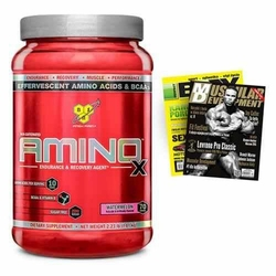 BSN Amino X - 1015g + Gazeta - Fruit Punch