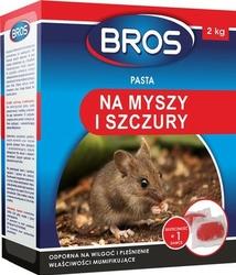 Bros, pasta na myszy i szczury, 2kg