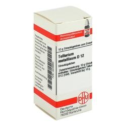 Tellurium metallicum d 12 globuli