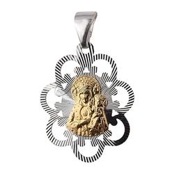 Srebrny medalik pr.925 matka boska częstochowska