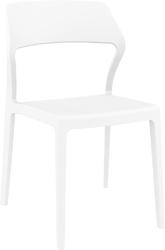 Krzesło snow białe - biały