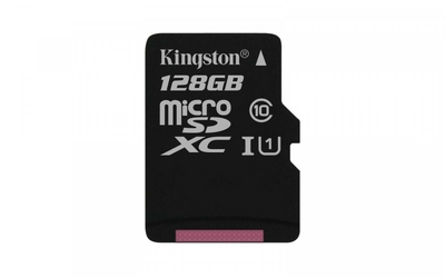 Kingston microSD 128GB Class10 Canvas Select 8010MBs