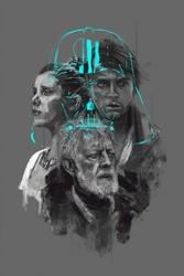 Star wars gwiezdne wojny ii generacja - plakat premium wymiar do wyboru: 21x29,7 cm