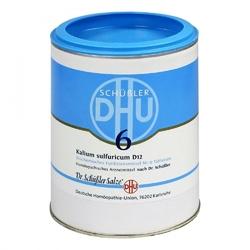 Biochemie dhu 6 kalium sulfur.d 12 tabl.