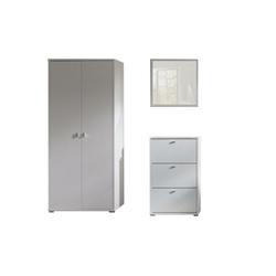 Zestaw garderoba Anter 2 białe
