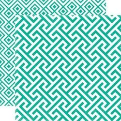 Papier 30,5x30,5 cm Style EssentialCalypso Geomet - 003