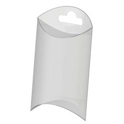 Plastikowe pudełko na biżuterię z zawieszką 10x15 - 10X15CM