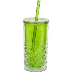 Kubek ze słomką do zimnych napojów Aladdin Classic 0,47 Litra, zielony AL-10-01850-017