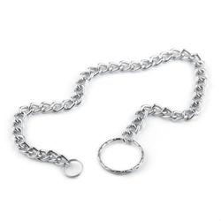 Metalowe kółko z łańcuszkiem 34,5 cm