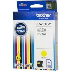 Tusz Oryginalny Brother LC-525 XL Y LC525XLY Żółty - DARMOWA DOSTAWA w 24h