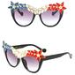Okulary przeciwsłoneczne gwiazda multikolor - multikolor