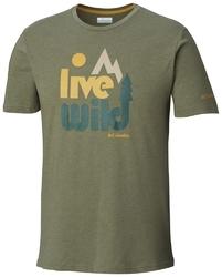 T-shirt męski columbia terra vale em0737316
