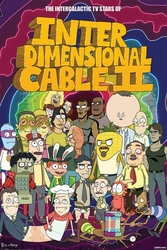 Rick and Morty Stars of Interdimensional Cable - plakat