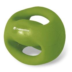 Piłka lekarska z uchwytami 5 kg grab - insportline - 5 kg