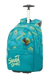 Plecak na kółkach samsonite color funtime zielony - street sports